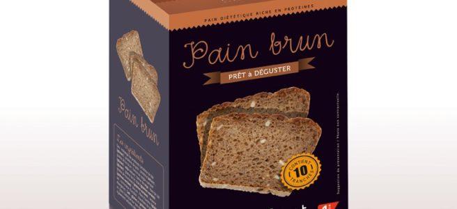 Pain brun diététique