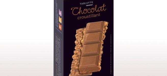 tablette chocolat croustillant