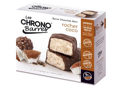Chrono-Barres Chrononutrition rocher coco