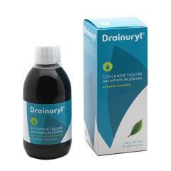 Drainuryl concentré liquide aux extraits de plantes sans sucre et sans alcool.