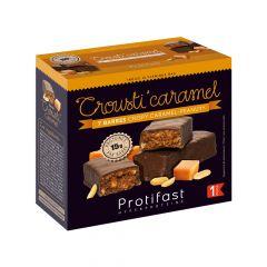 Barre protéinée crousti caramel peanut enrobage chocolat