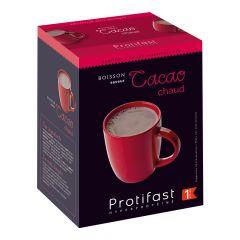 Boisson saveur cacao chaud riche en protéines. Protifast 7 sachets x 26,5 g