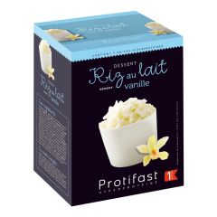 Préparation pour dessert façon riz au lait riche en protéines. 7 sachets