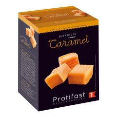 Entremets dessert caramel riche en protéines. 7 sachets