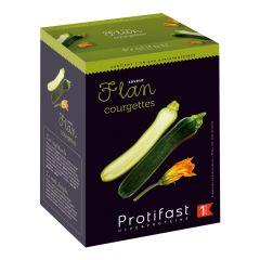 Préparation diététique pour flan courgettes riche en protéines. 7 sachets