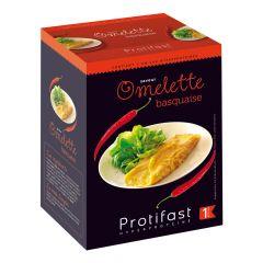 Préparation pour omelette basquaise riche en protéines. 7 sachets x 27 g