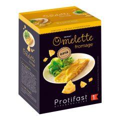 Préparation pour omelette saveur fromage riche en protéines. 7 sachets x 31 g