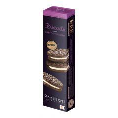 Biscuit crème et cookie riche en protéines, sans gluten, façon Oreo®️