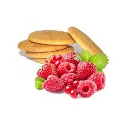 Biscuits protéinés aux fruits rouges Protifast.