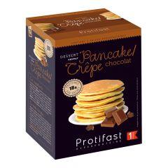 Crêpe arôme chocolat riche en protéines, sans édulcorant. 7 sachets x 26,5 g