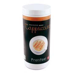 Préparation en poudre pour cappuccino hyperprotéiné. Pot économique 500 g
