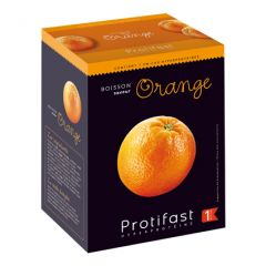 Protifast boisson orange riche en protéines.