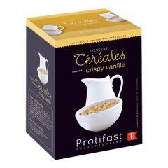 Céréales saveur crispy vanille Protifast.