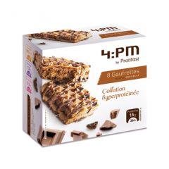 Gaufrettes chocolat Protifast riches en protéines.