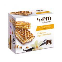 Gaufrettes vanille riches en protéines. Protifast