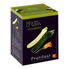 Flan courgettes riche en protéines Protifast. 1 boîte de 7 sachets.