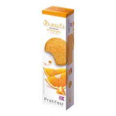 20 Biscuits protéinés aux écorces d'orange confites.