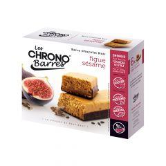Barre figue et sésame Chrono-nutrition riche en protéines source de tryptophane.