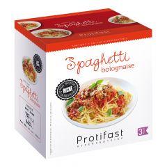 Préparation diététique à base de soja riche en protéines pour spaghetti bolonaise. 7 sachets